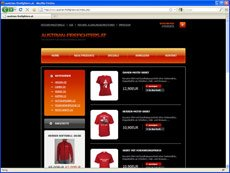 Austrian Firefighters Online-Shop