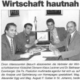 """PIXELUTION.AT bei """"Wirtschaft hautnah"""""""