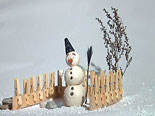 Clay Animation SNOWMAN