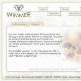 Webprojekt: Schmuck und Uhren Wimmer