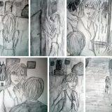 """Storyboard einer Szene von """"Intrigen"""""""
