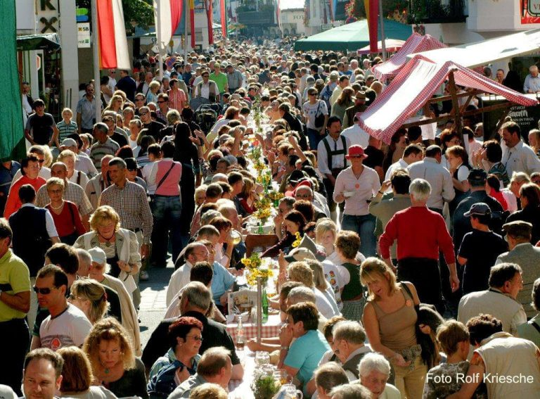 Knödelfest in St. Johann in Tirol