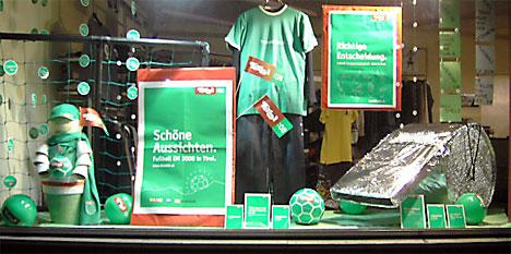 EM-Schaufenster La Moda Nigre, Fieberbrunn