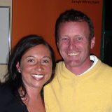 Organisatorin Barbara Walder und Golf Pro Colin Hodgson