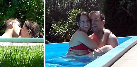 Chillen im Pool