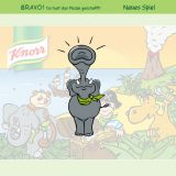 Microsite v2: KNORR-Puzzle-Spiel Bravo-Screen
