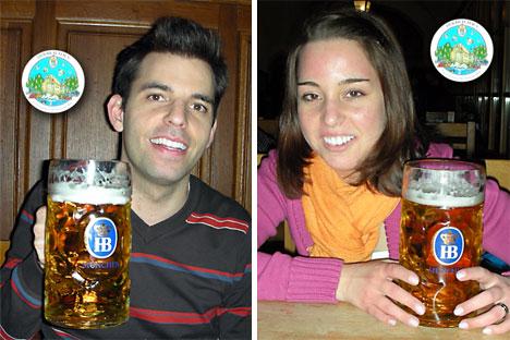 Sunny & Gusti im Hofbräuhaus München