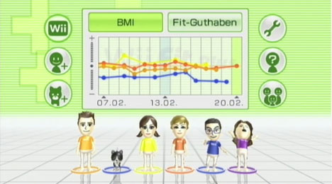 Wii Fit Lobby