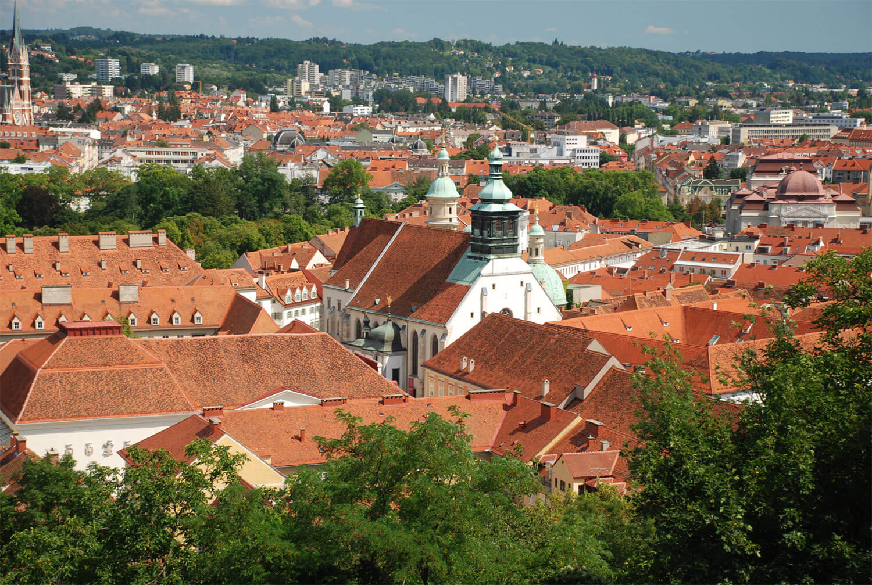 Graz: Uhrturm & Panorama