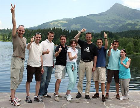 Walk & Talk am Kitzbüheler Schwarzsee