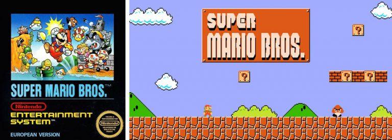 Super Mario Bros. für das Nintendo Entertainment System
