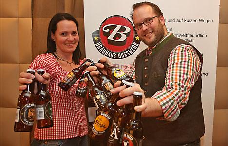 Bierspezialitäten aus dem Brauhaus Gusswerk