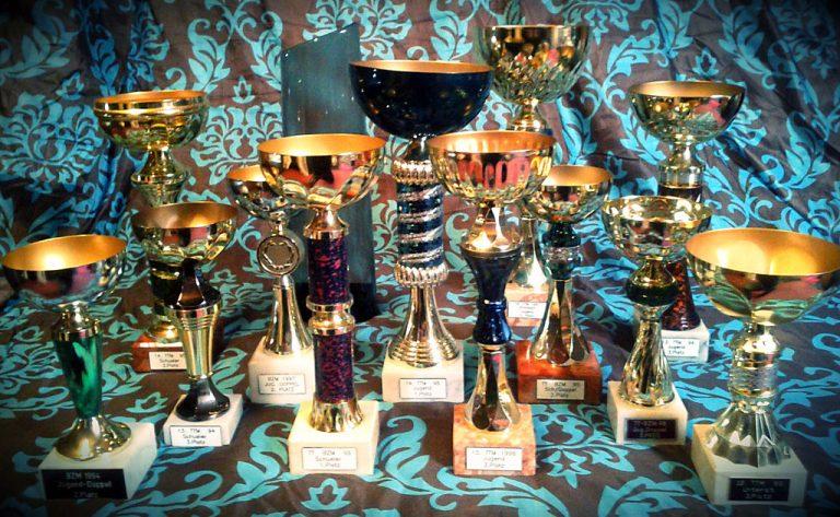 Meine (alten) Tischtennis-Pokale