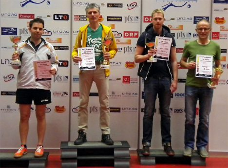 10. Linzer Tischtennis-Turnier: Sieger Hobbybewerb