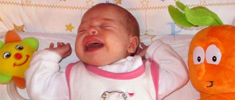 Ja, Lena kann auch schreien! ;(