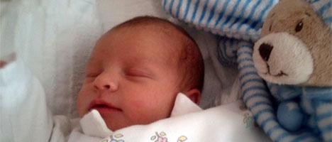 Lenas erstes Foto