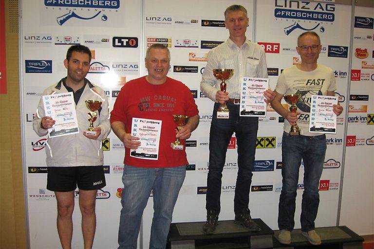 11. Linzer Tischtennis-Turnier: Sieger Hobbybewerb