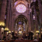 Kathedrale von Palma (Panorama Innenraum)