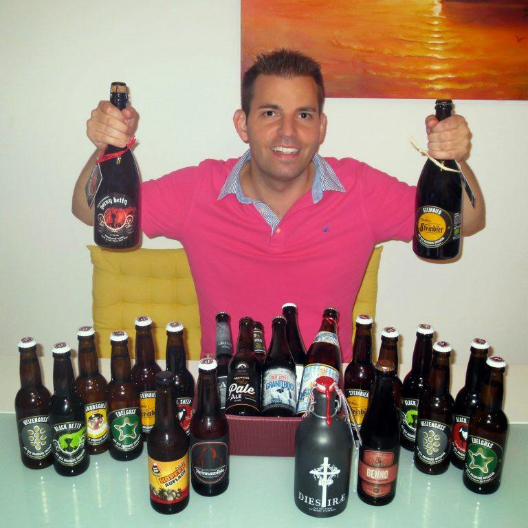 Ein paar feine Biere habe ich immer daheim!