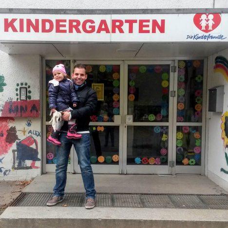 Erstes Schnuppern im Kindergarten