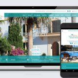 Webauftritt der Son Manera Retreat Finca auf Mallorca