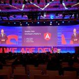 Mit Code vollgepackter Talk über Angular