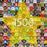 1500 Unique Beers auf Untappd