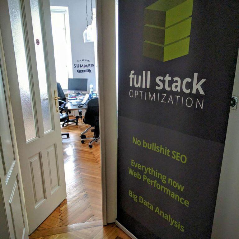 Full Stack Optimization Wien