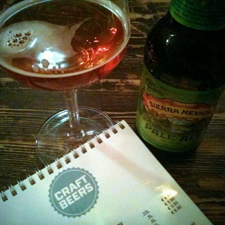 Sierra Nevada Pale Ale bei Charlie P's