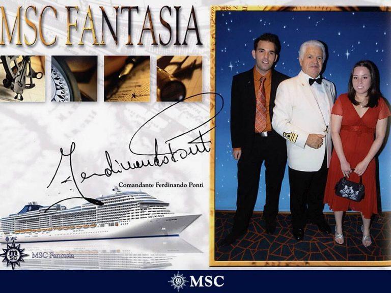 An Bord der MSC Fantasia