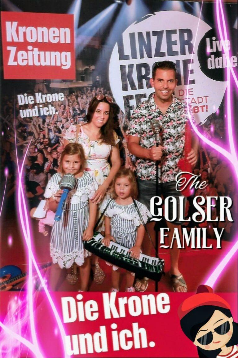 The Golser Family Live beim Linzer Krone-Fest 2019